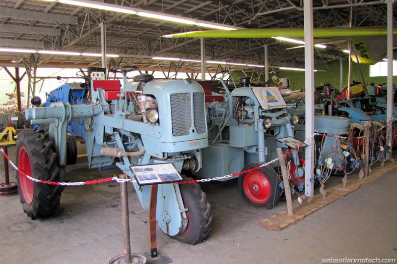 Musée du tracteur enjambeur 10