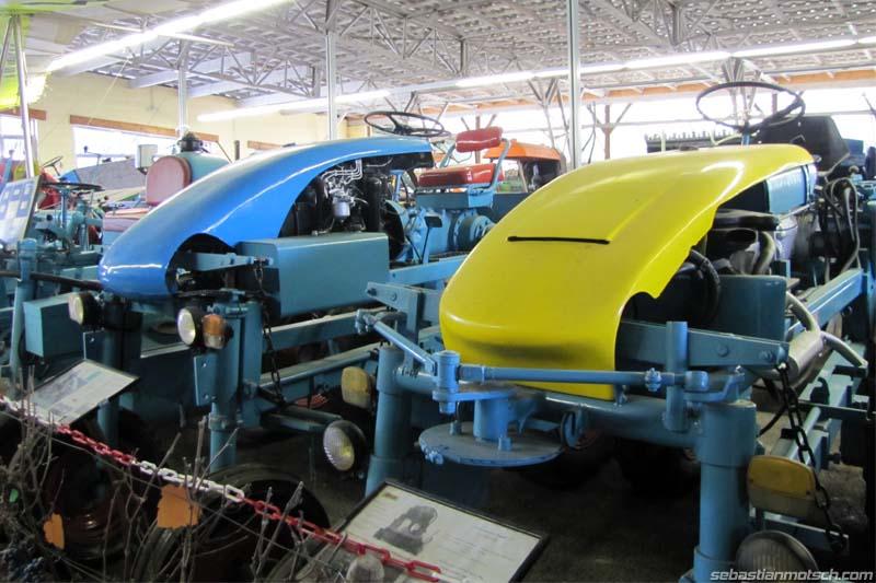 Musée du tracteur enjambeur 09