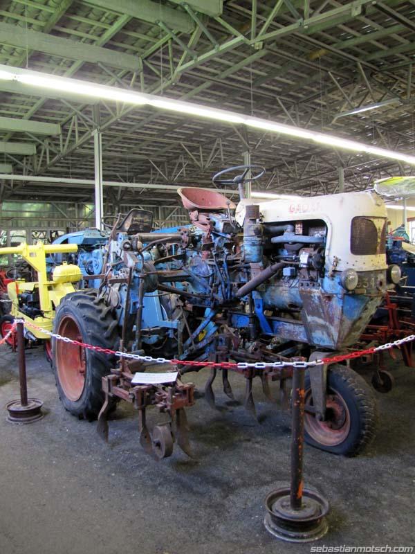 Musée du tracteur enjambeur 07