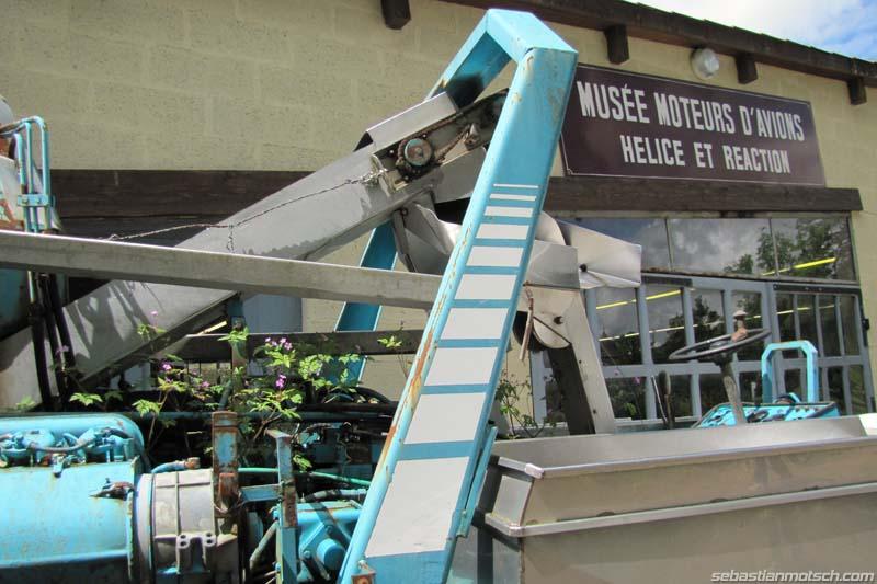 Musée du tracteur enjambeur 01