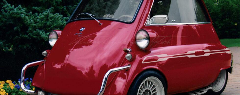 BMW Isetta Alpina Photoshoshop by Sebastian Motsch