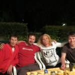 Heidi, Sebastian, Debbie and Daniel