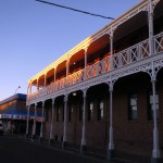 Victorian buildings in central Kimberley.
