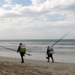 South Africa, Western Cape, Struis Bay, Fishermen