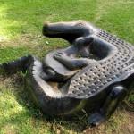 South Africa, Capetown, Kirstenbosch, Botanical Garden, Table Mountain, Sculpture