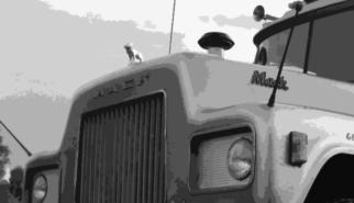 Classic Mack Truck | Artwork by Sebastian Motsch (2018)