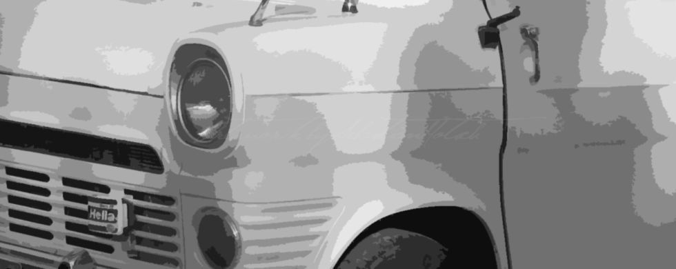 Ford Transit Mk1 Campervan | Artwork by Sebastian Motsch (2018)