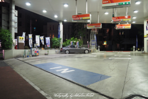 2017 Japan Tokyo Petrol Station at Night 01