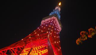 2017 Japan Tokyo Tower at Night   travel photography by Sebastian Motsch (2017)