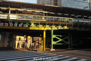 2017 Japan Tokyo Yarakucho Station Sunset | Travel Photography by Sebastian Motsch (2017)