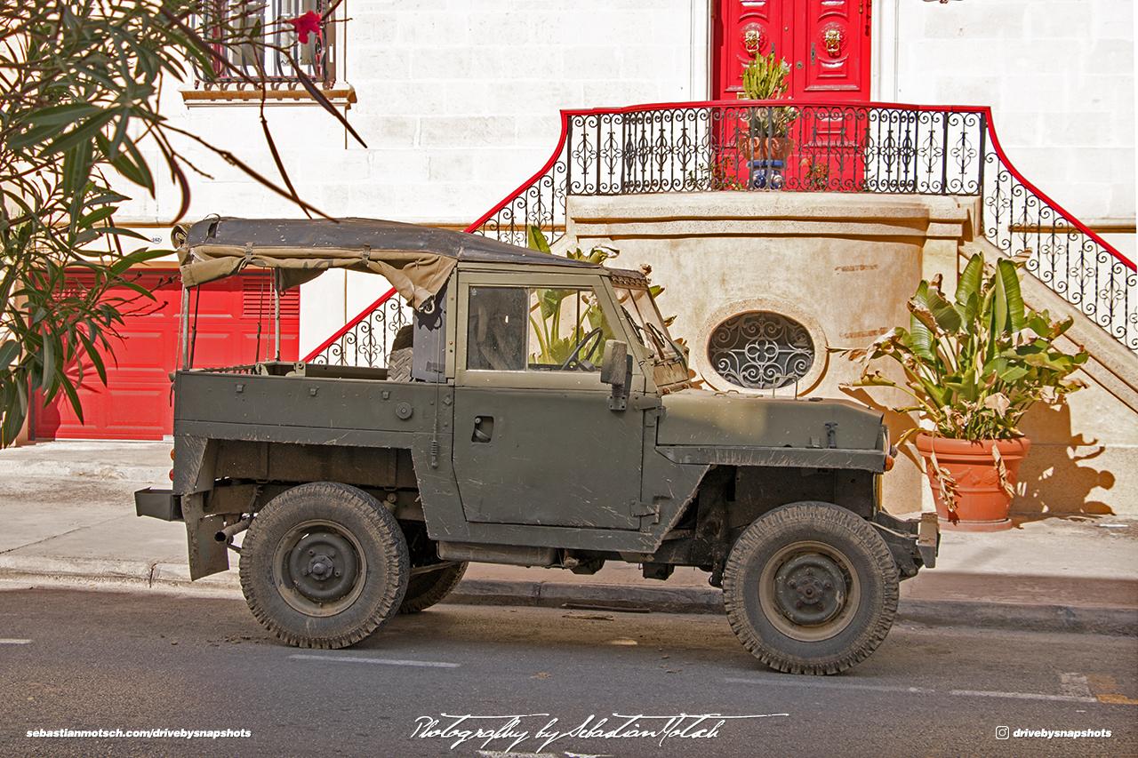 Land Rover Series II Lightweight Malta Valetta Drive-by Snapshot by Sebastian Motsch
