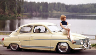 SAAB 96 Classic Custom Photoshop by Sebastian Motsch