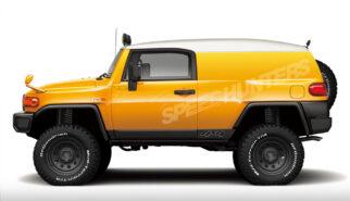 Toyota FJ Cruiser 4x4 Panel Van Conversion Speedhunters Photoshop by Sebastian Motsch
