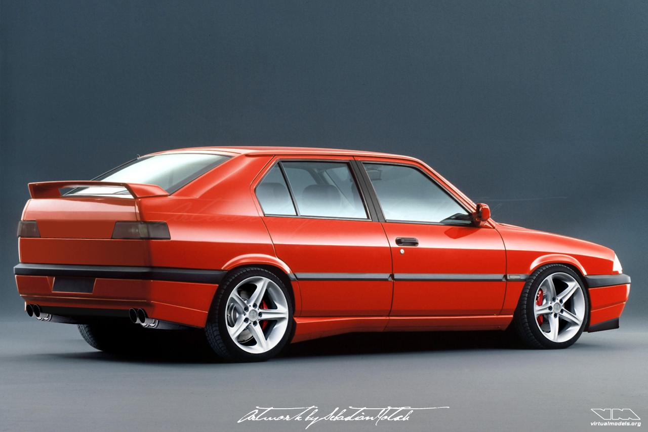 Alfa Romeo 33 Permanent4   photoshop chop by Sebastian Motsch (2008)