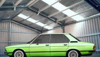 BMW E12 525i | photoshop chop by Sebastian Motsch (2008)