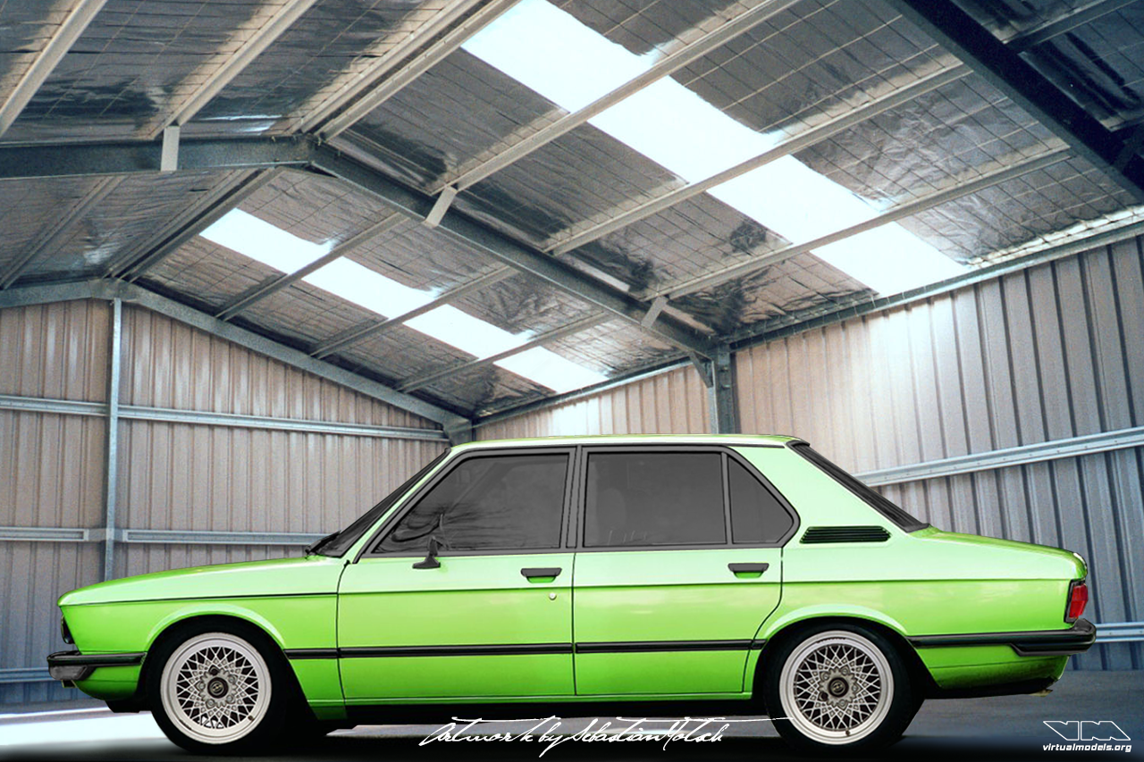 BMW E12 525i | photoshop chop by Sebastian Motsch (2008)