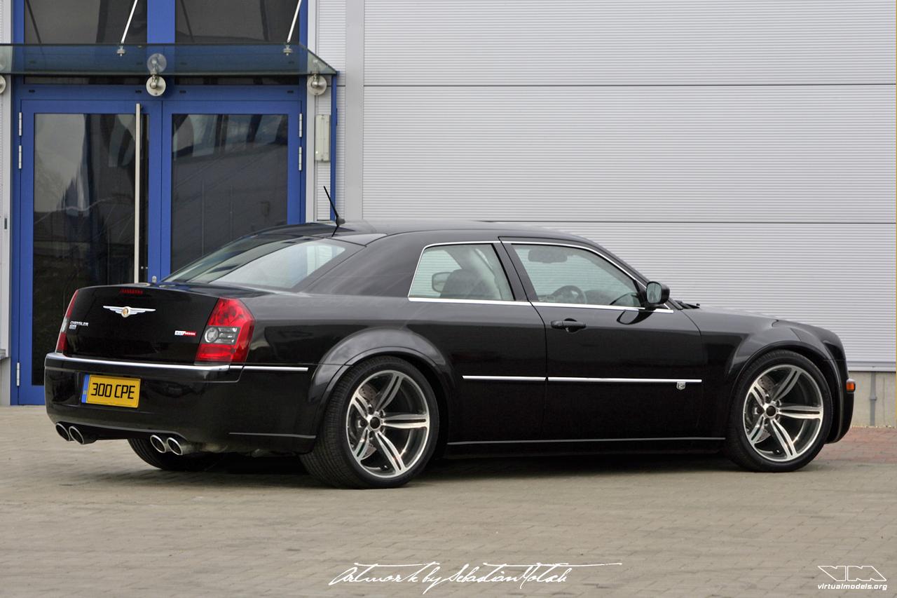 Chrysler 300C SRT8 Coupé Conversion | photoshop chop by Sebastian Motsch (2008)