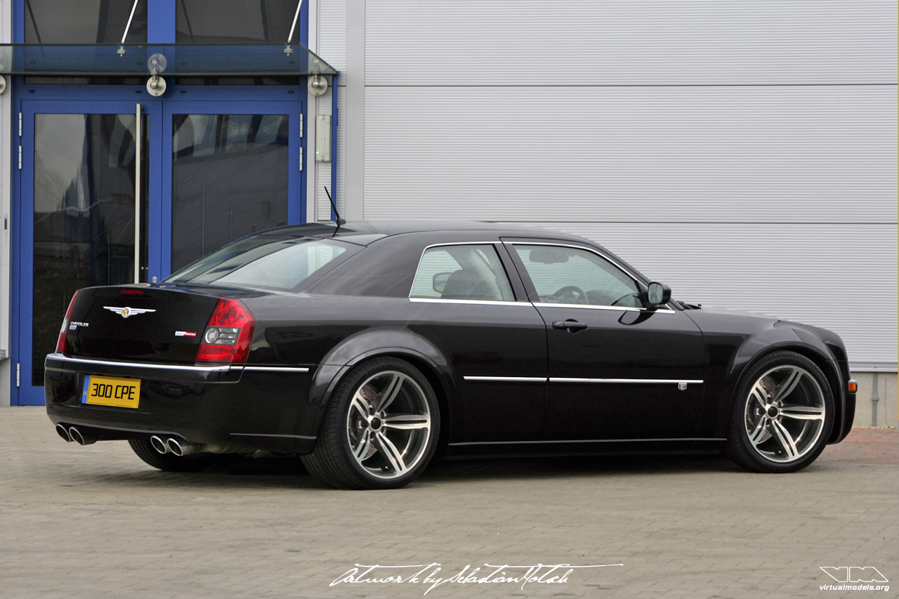 Chrysler 300C SRT8 Coupé Conversion | photoshop chop by Sebastian Motsch (2008)