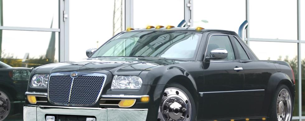 Chrysler 300C UTE pick-up conversion | photoshop chop by Sebastian Motsch (2006)