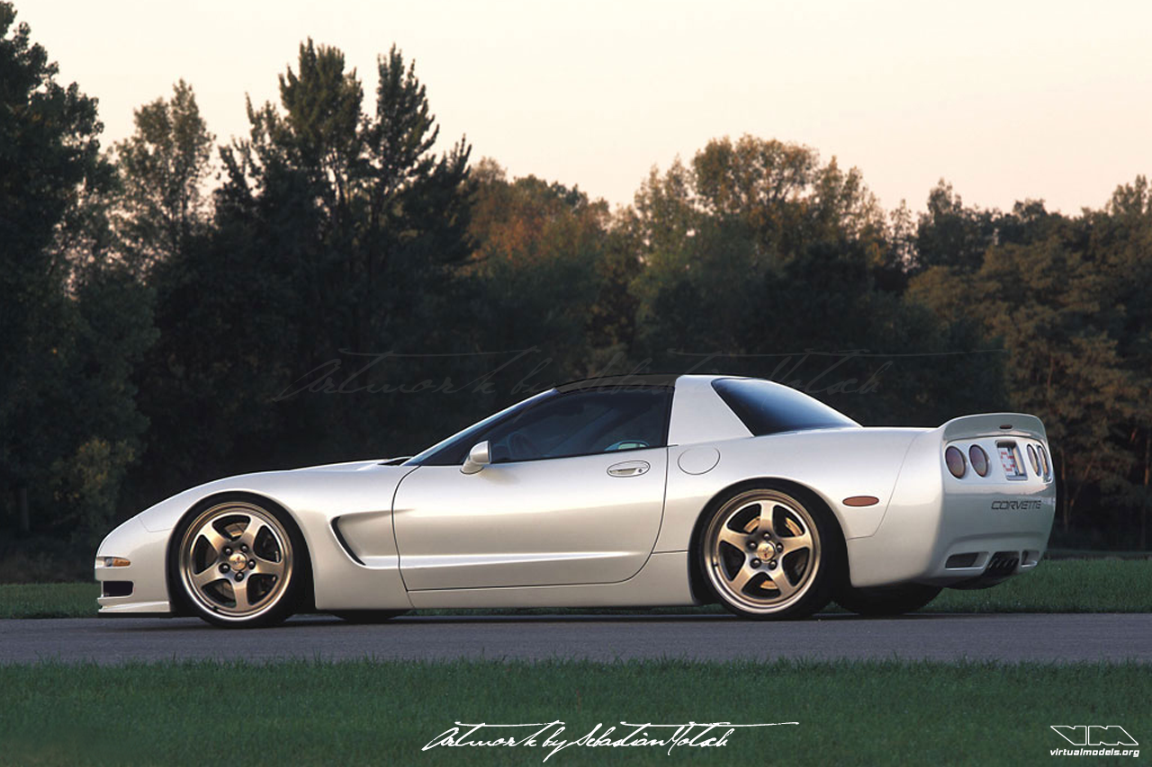 Corvette C5 Z06 Lingenfelter | photoshop chop by Sebastian Motsch (2007)