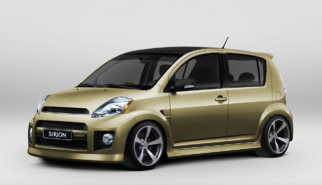 Daihatsu Sirion Turbo with bodykit | photoshop chop by Sebastian Motsch
