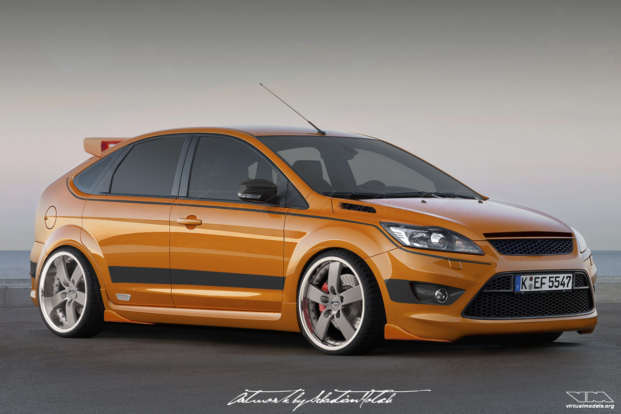Ford Focus ST Mk3 | photoshop chop by Sebastian Motsch (2008)
