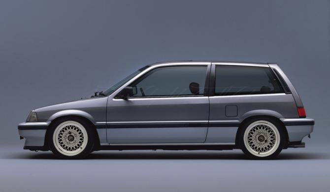 Honda CIVIC AH Hatchback  photoshop chop by Sebastian Motsch