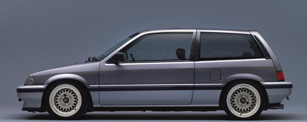 Honda CIVIC AH Hatchback |photoshop chop by Sebastian Motsch