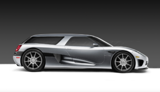 Koenigsegg CCX Shooting Break Concept | photoshop chop by Sebastian Motsch (2007)