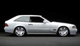 Mercedes-Benz R129 SL500 Shooting Break Conversion | photoshop chop by Sebastian Motsch (2008)