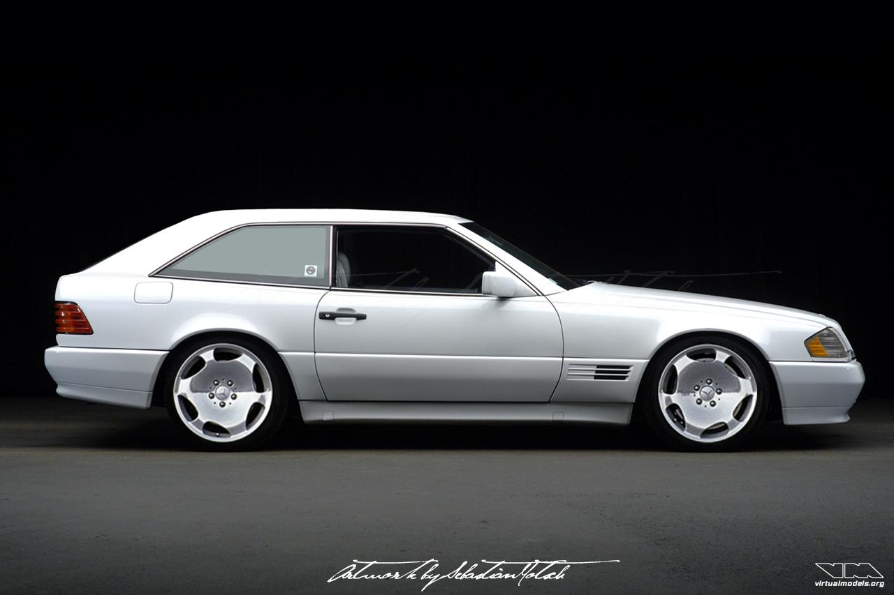 Mercedes-Benz R129 SL500 Shooting Break Conversion | photoshop chop by Sebastian Motsch (2008)