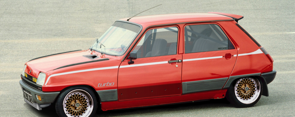 Renault R5 GTL Turbo | photoshop chop by Sebastian Motsch (2007)