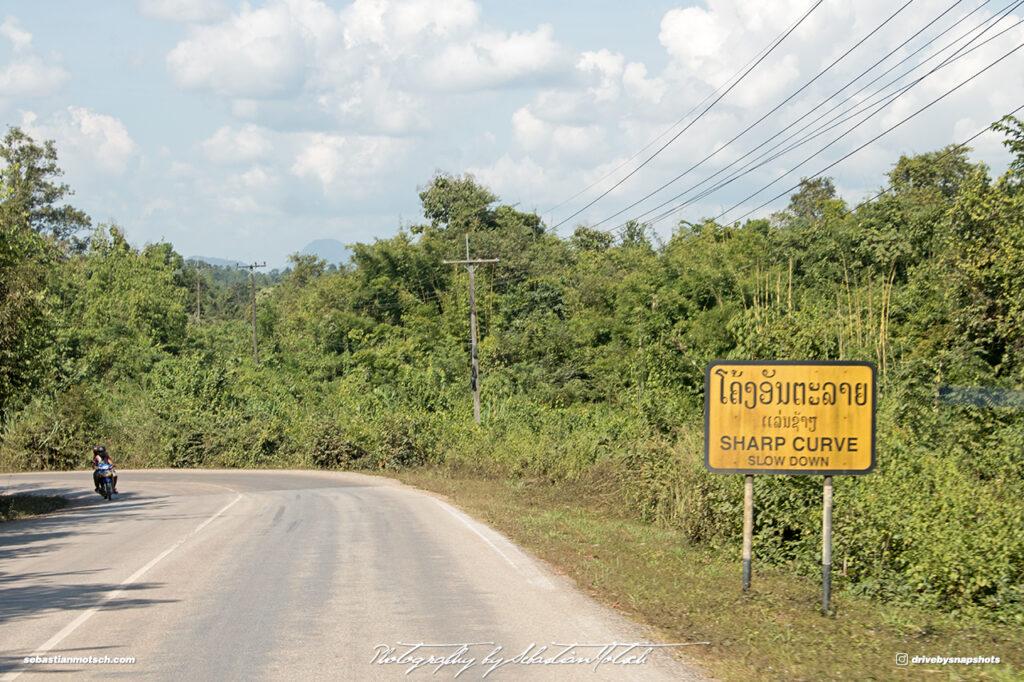 Laos Mountain Road 13 Drive-by Snapshots by Sebastian Motsch