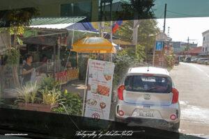 Laos Vientiane KIA Picanto remote carwash Drive-by Snapshots by Sebastian Motsch