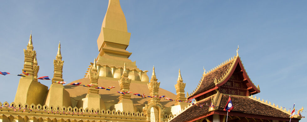 Laos Vientiane Pha Tat Luang 01 Travel Photography by Sebastian Motsch
