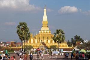 Laos Vientiane Pha Tat Luang 02 Travel Photography by Sebastian Motsch
