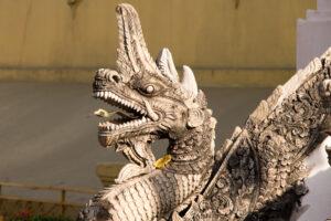 Laos Vientiane Pha Tat Luang Dragon Travel Photography by Sebastian Motsch