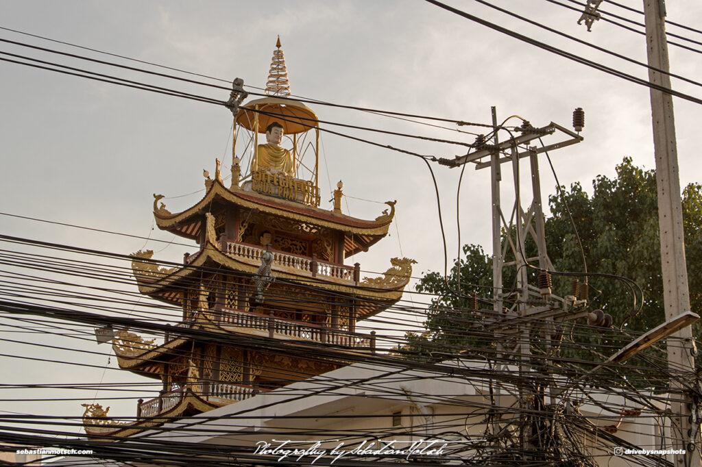 Laos Vientiane Pha That Luang Buddha Statue Travel Photography by Sebastian Motsch
