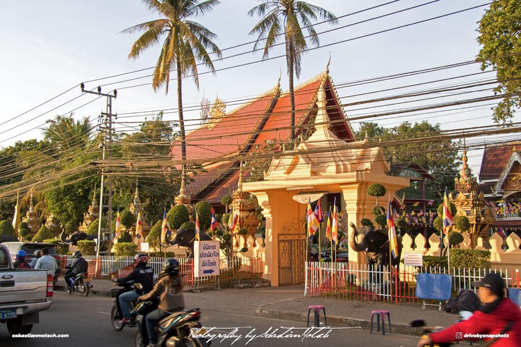 Laos Vientiane Wat Chanthaboury Travel Photography by Sebastian Motsch