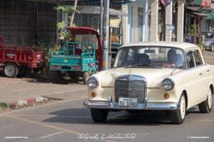 Mercedes-Benz W110 190D Laos Vientiane Drive-by Snapshots by Sebastian Motsch
