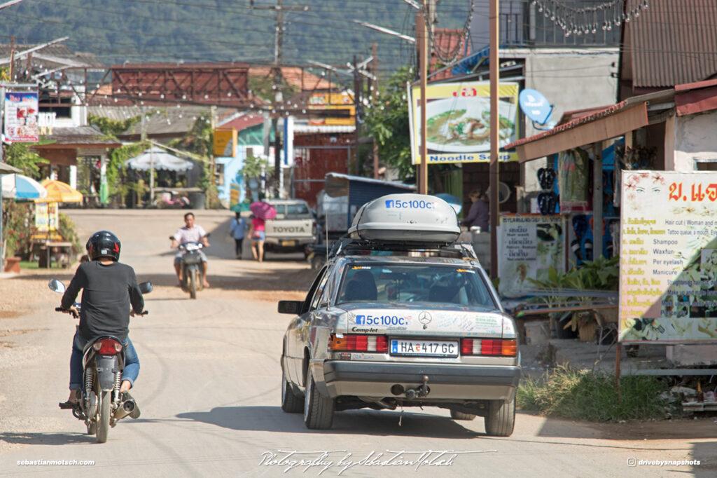 Mercedes-Benz W201 5c100c Laos Vang Vieng Drive-by Snapshots by Sebastian Motsch