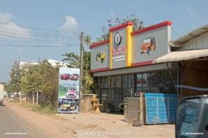 Moke Elite Lao Soleco Ltd Laos Vientiane Drive-by Snapshots by Sebastian Motsch