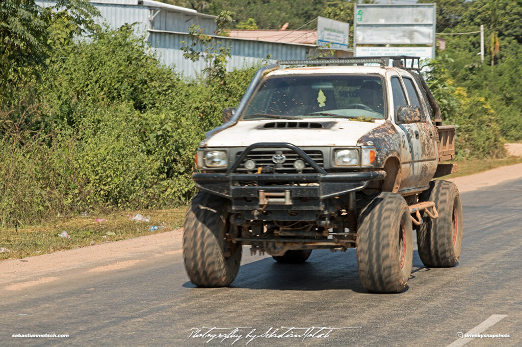 Toyota Hilux Double Cab Lifted 4x4 Rock Crawler Laos Drive-by Snapshots by Sebastian Motsch