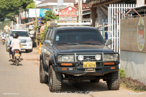 Toyota LandCruiser 80-Series with ARB Accessories Laos Vientiane Drive-by Snapshots by Sebastian Motsch