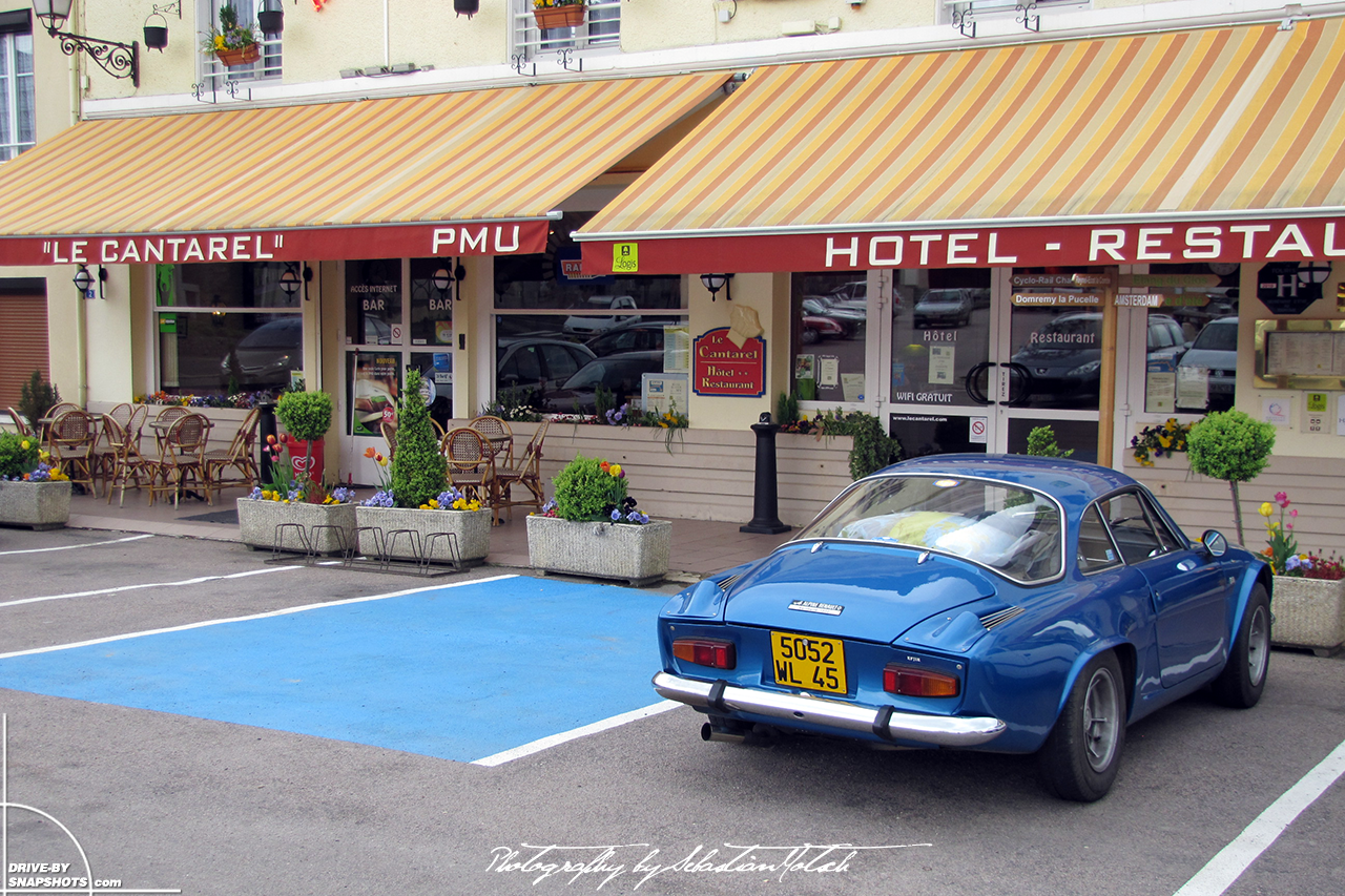 Renault Alpine A110 France | Drive-by Snapshots by Sebastian Motsch (2010)