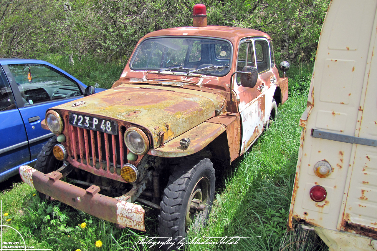 Willys Jeep MB with Renault R4 body conversion | Drive-by Snapshots by Sebastian Motsch (2010)