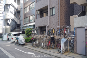 2017 Japan Tokyo Bicycle Parking | travel photography by Sebastian Motsch (2017)