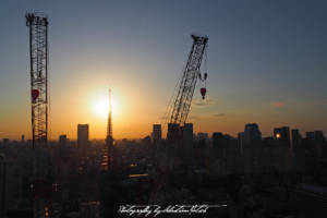 2017 Japan Tokyo Tower Sunset | travel photography by Sebastian Motsch (2017)