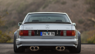 Mercedes-Benz C126 560 SEC AMG | photoshop chop by Sebastian Motsch (2019)