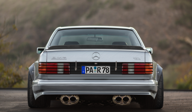 Mercedes-Benz C126 560 SEC AMG | photoshop chop by Sebastian Motsch (2019)
